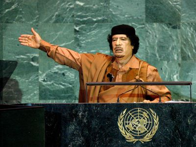 Gaddafi warned us about viruses in his speech in UNO 2009