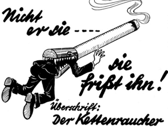 First time in the history tobacco-smoking-ban-by-hitler-adolf