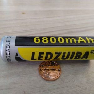 6800 MAH 18650 Cell Rechargeable 3.7 Volt Batteries